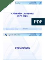 Presentación campaña de renta 09