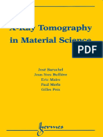 X-Ray Tomography in Material Science
