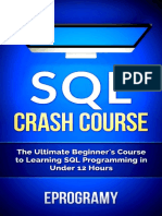SQL Crash Course