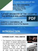 Justice Castaneda Jr. PRESENTATION 120 Slides