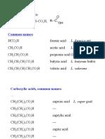 Carboxylic Acids (1)