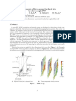 Measurements of Flow Around Inclined Jets by Stereoscopic PIV