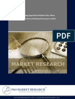 Food Coating Ingredients Market Growth and Demand Forecast to 2020