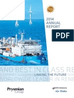 2014 Prysmian Annual Report