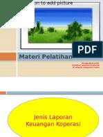 Materi Pelatihan Akuntansi Koperasi