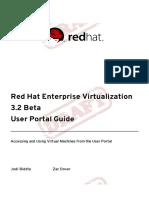 Red Hat Enterprise Virtualization 3.2 Beta User Portal Guide en US