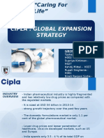 CIPLA Strategy