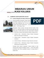 Gambaran Umum Lokasi Wilayah Cianjur