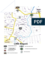 Map Vicinity Little Baguio 2016