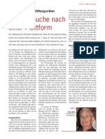 Stiftungsräte - Umfrage VPS - Artikel Wirth