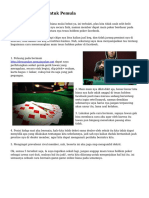 Trik Main Poker Untuk Pemula