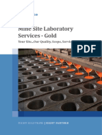 ALS Mine Site Laboratory Services - Gold