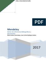 Manual de Mendeley, Gestor de Referencias Bibliográficas