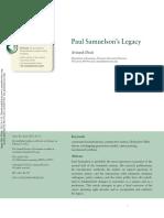 [Dixit, A.] Paul Samuelson's Legacy