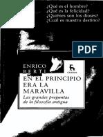 Enrico Berti - Las grandes preguntas de la filosofía antigua (2009 Gredos).pdf
