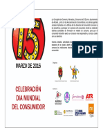Aula Cultura Alicante. Actos Día Del Consumidor. Marzo 2016