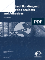 Durability of Building and Construction Sealants and Adhesives Volume 2 Andreas T Wolf