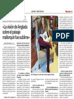 Entrevista a María Villalonga sobre Anglada Camarasa