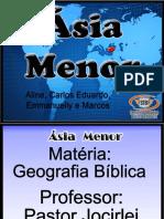 Trabalho - Geografia Bíblica