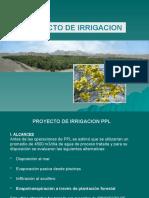 Bosques de Huarmey - Proyecto de Irrigación PPL - Antamina
