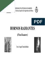 Diseño de Hornos de Radiación