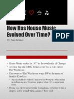Sam Towner House Music Evolution