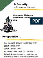 Ppt Network Security Pentingnya Keamanan Internet