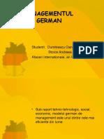 Dumitrescu Stoica Managementul German