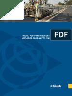 Trimble PCS400 Paving Control System