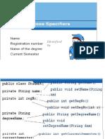 Class Java