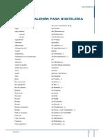 Glosario Alemán Hosteleria (1)
