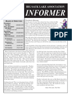 Big Sauk Lake Association Informer