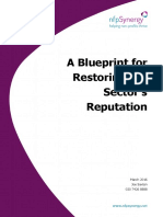 A Blueprint for Restoring the Sector Reputation