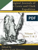 Original Journals of Lewis and Clark Vol. 5 of 8