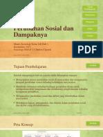 Perubahan Sosial Dan Dampaknya