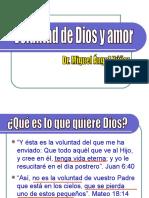 03 Voluntad de Dios y Amor