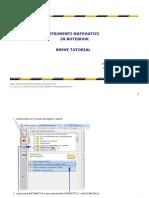 Strumenti Matematici in Notebook 10