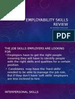 employability skills review