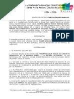 Contrato 01 Federal Xadani Arq. Oscar Mecott