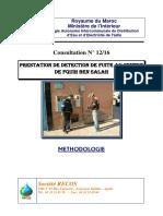 Méthdologie_detection de Fuite