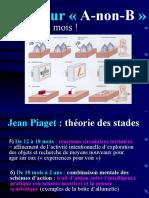 [PsYDev] - D1 - Univ ParisV - Moutier - Introduction a La Psycho Du Dev Cognitif - C3