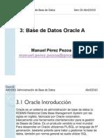 ABD5501 03 Sem 03 Base de Datos Oracle A