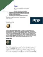 Kosmografi Planet