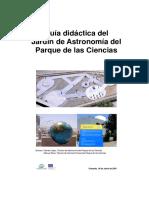 Guia Didáctica Del Jardin de Astronomía Del Parque de Las Ciencias de Granada
