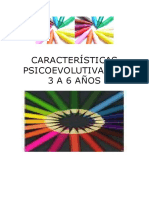 Características Psicoev. 3-6 Años-Averroes