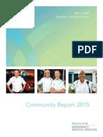 2015 Allina Health EMS Community Report