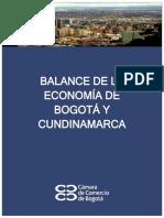 Balance de La Economía de Boasdasdgotá Cundinamarca 2012.