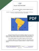 CV Proyecto Malvinas 2004