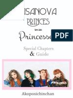 Casanova Princes Turn Into Princesses Special Chapters
