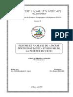 Droit Canonique